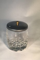 DL Pro Glass Jar With Stainless Steel Lid