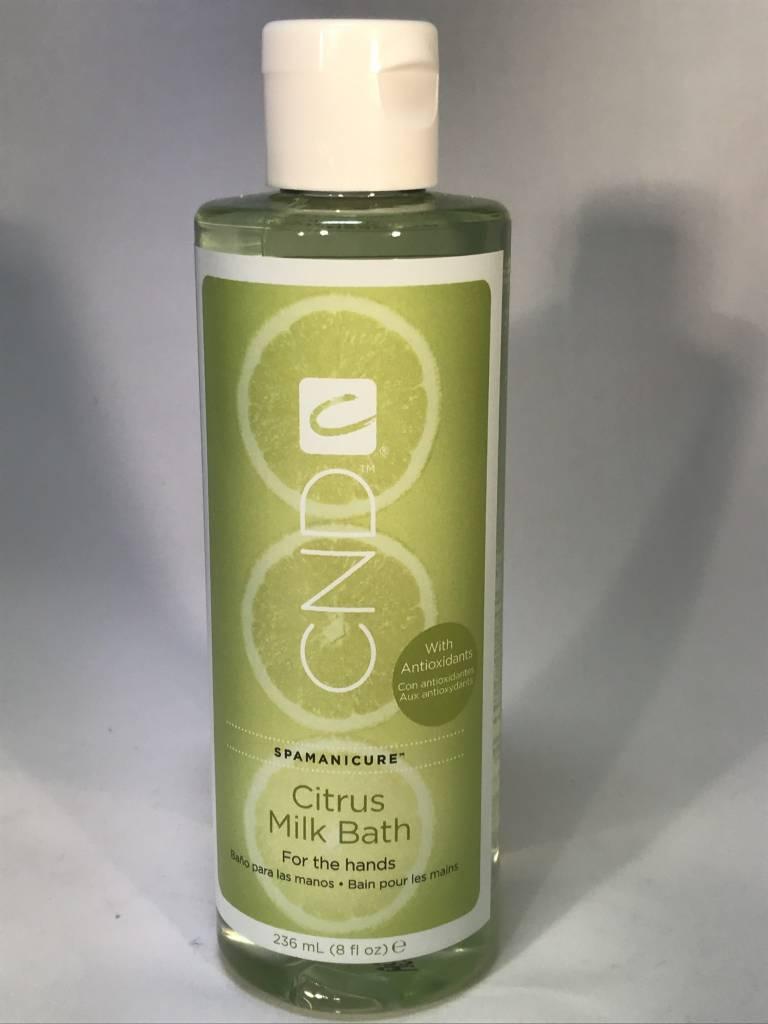 CND Spamanicure Citrus Milk Bath