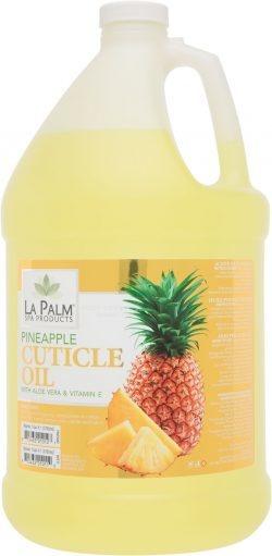 La Palm Cuticle Oil Yellow Pineapple 1 Gallon