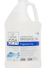 La Palm Massage Oil 1 Gallon Clear & Fragrance Free