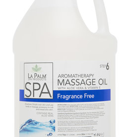 La Palm Massage Oil 1 Gallon Clear & Fragrance Free
