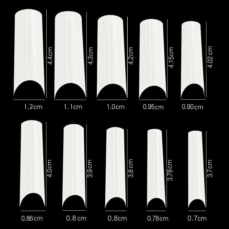 Bamboo Tip bag Natrual/Clear  (10pcs)