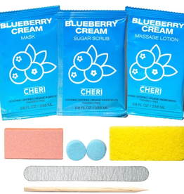 CHERI CHERI-7-IN-1 Pedicure Kit Blueberry Cream single