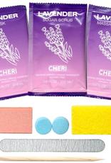CHERI CHERI-7-IN-1 Pedicure Kit Lavender single