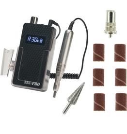 TECH-PRO TEC-PRO Portable Rechargeable Manicure Filing