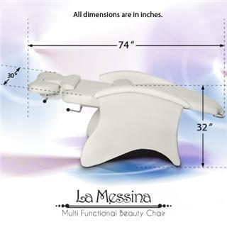 La Messina White Facial Chair
