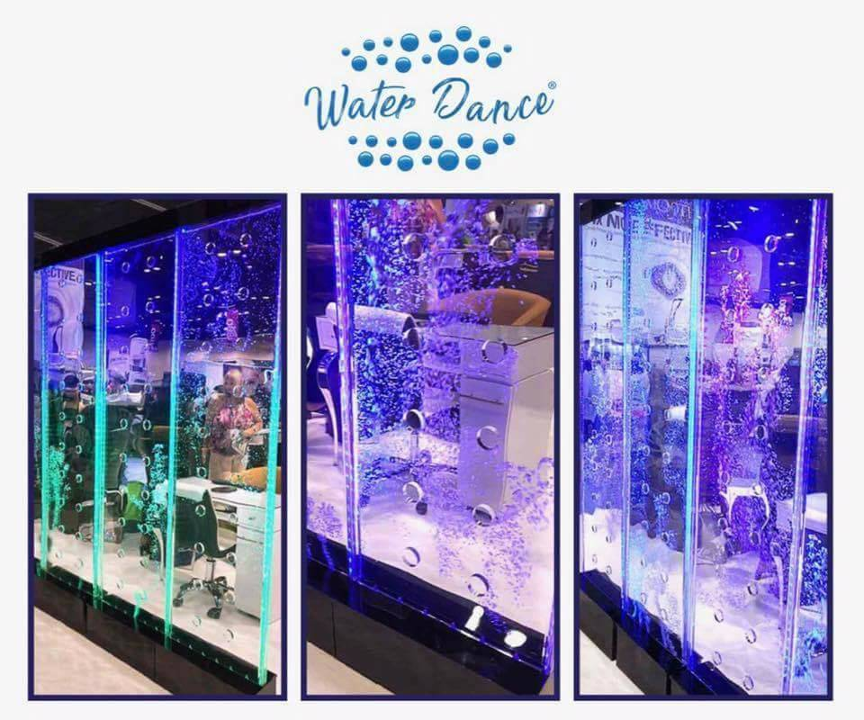 Led Water Dance Wall Display Sunshine Nail Supply
