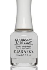 Kiara Sky Nail Lacquer Sticky & Stay Base Coat