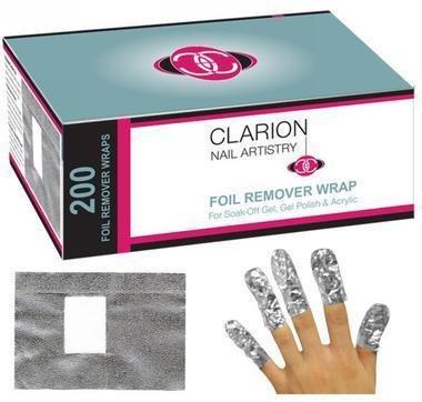 Clarion Nail Remover Foil Wrap (200pcs)