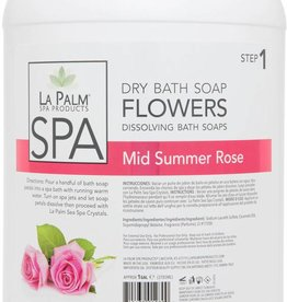 Flower Soap Mid Summer Rose Single