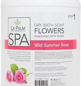 La Palm Flower Soap Mid Summer Rose Single