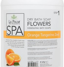 Flower Soap Orange Tangerine Zest Single