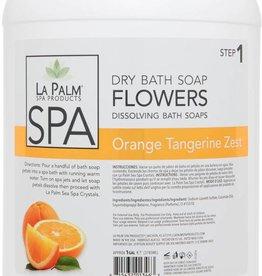 La Palm Flower Soap Orange Tangerine Zest Single