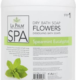 Flower Soap Spearmint Eucalyptus Single