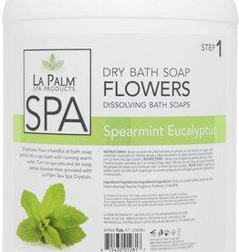 La Palm Flower Soap Spearmint Eucalyptus Single