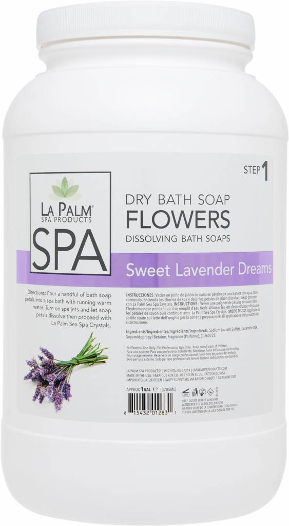 Flower Soap Lavender Purple (4 gal Case)