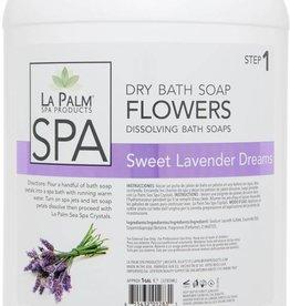 La Palm Flower Soap Lavender Purple Single