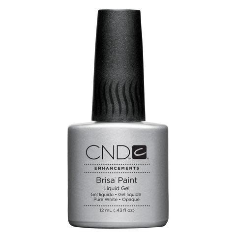 CND Brisa Paint Pure White Opaque