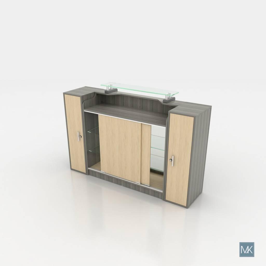 Alera Reception Table with Display