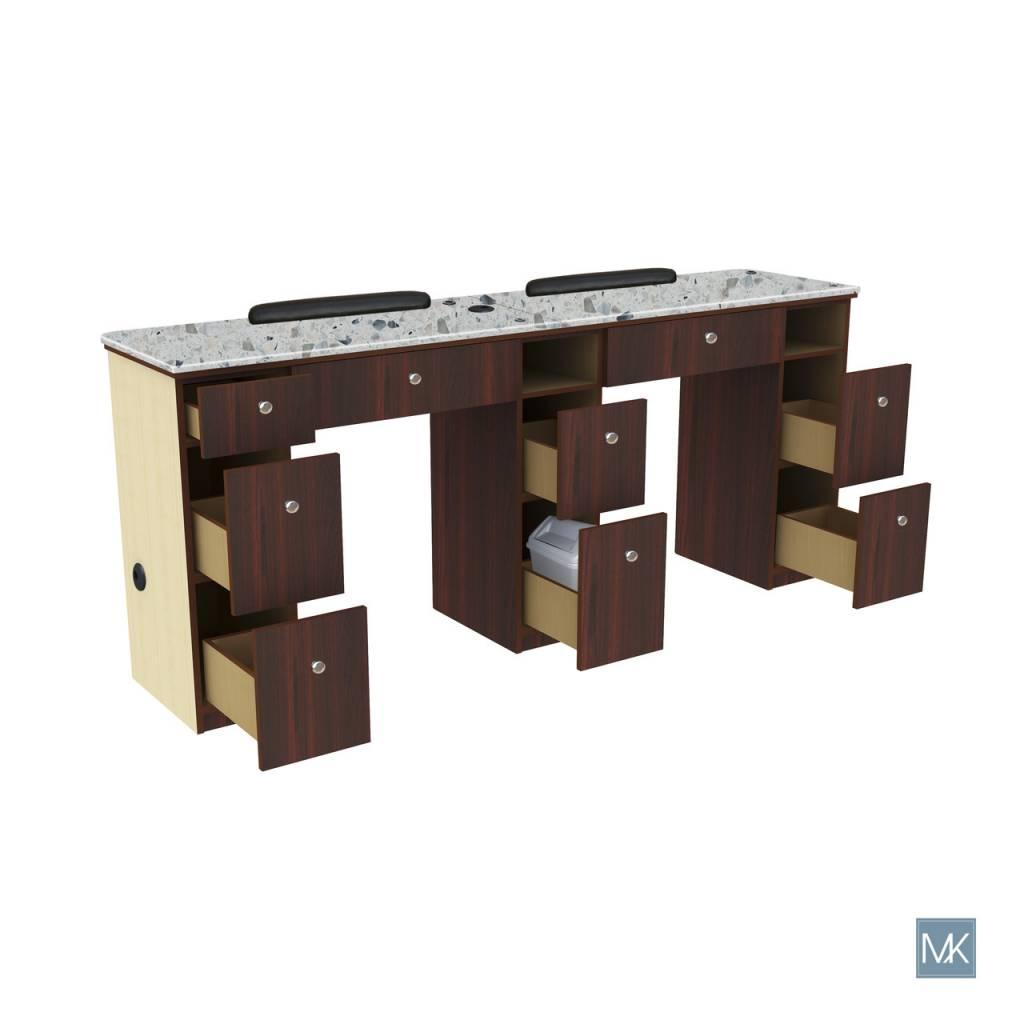 Verona Nail Table Double