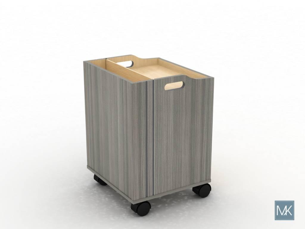 ALERA Pedi Trolley Cart (Ash)