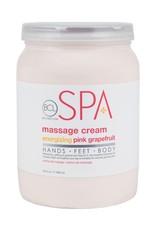 BCL Spa  64 oz Pink Grapefruit Massage Cream single