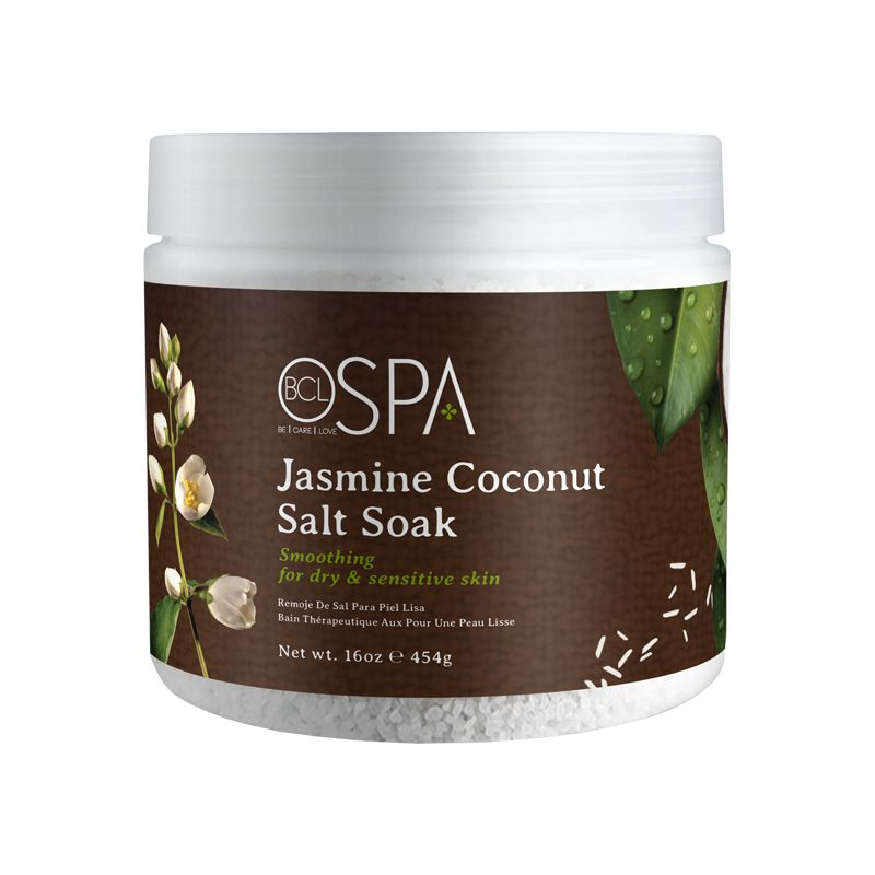 BCL Spa  16 oz Jasmine Coconut Dead Sea Salt Soak single