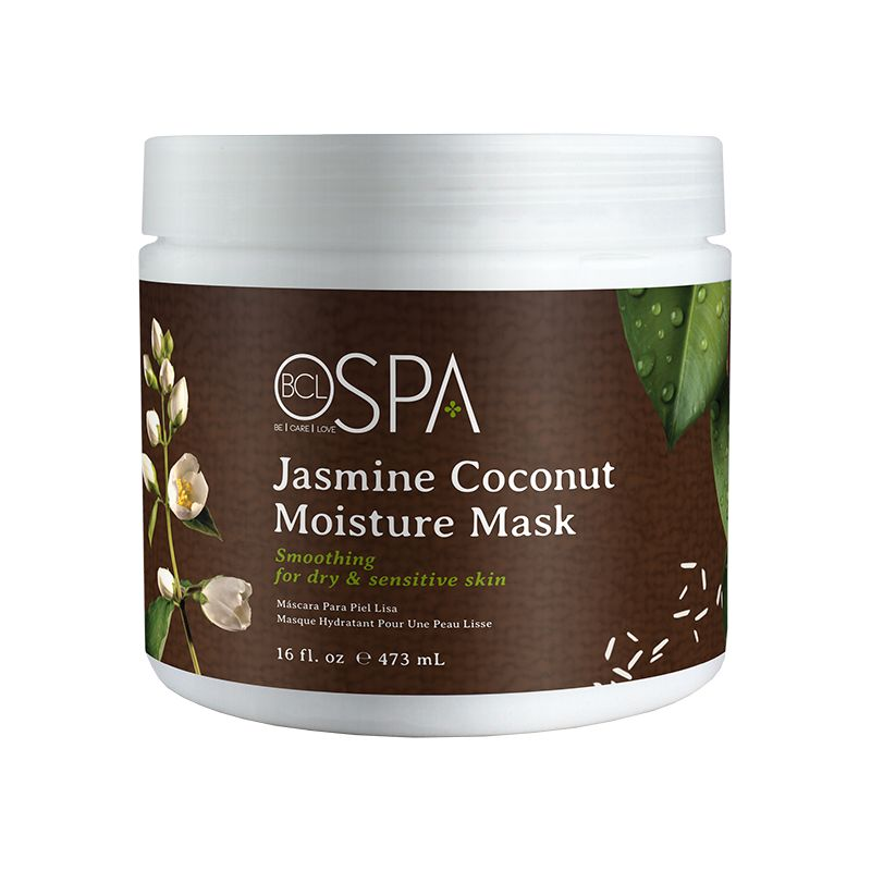 BCL Spa  16 oz Jasmine Coconut Moisture Mask single
