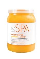 BCL Spa  64 oz Mandarin + Mango Sugar Scrub single