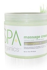 BCL Spa  16 oz Lemongrass + Green Tea Massage Cream single