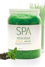BCL Spa  64 oz Lemongrass + Green Tea Dead Sea Salt Soak single