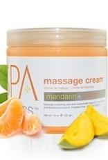 BCL Spa  16 oz Mandarin + Mango Massage Cream single