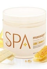 BCL Spa  16 oz Milk + Honey Massage Cream single