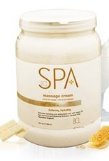BCL Spa  64 oz Milk + Honey Massage Cream single