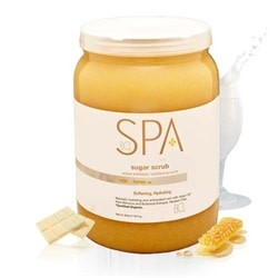 BCL Spa  64 oz Milk + Honey Sugar Scrub single