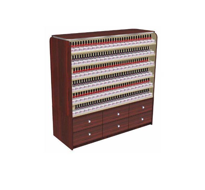 Avon I Polish + Dip Powder Rack With Cabinets