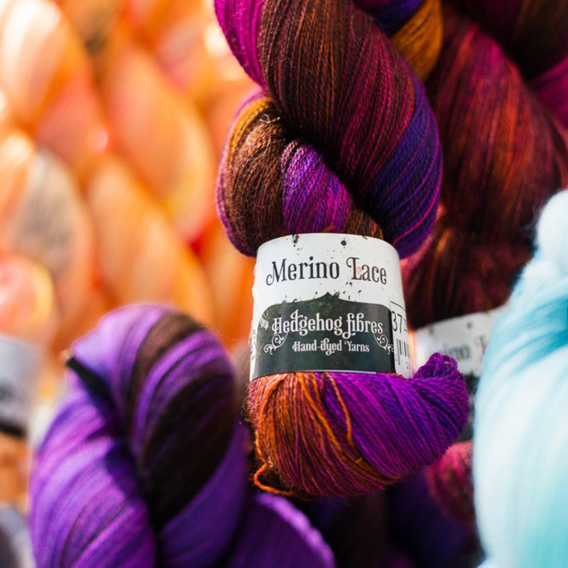 Merino Lace by Hedgehog Fibres
