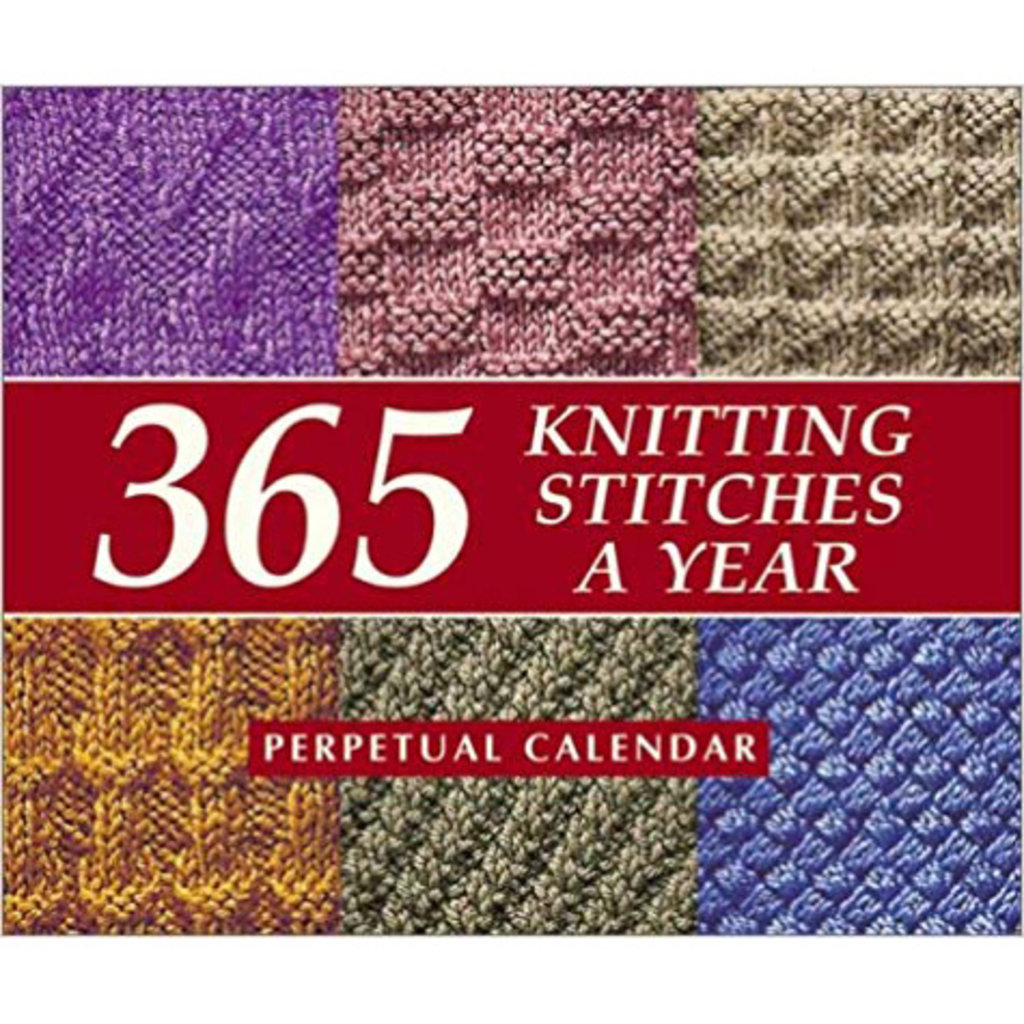 365 Knitting Stitches Calendar