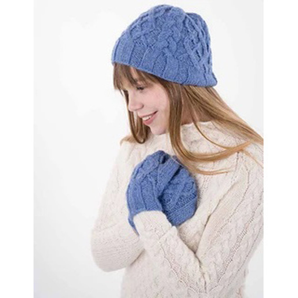 Juniper Moon Farm Breathless Hat & Mittens Pattern