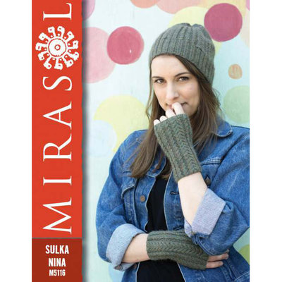 Mirasol Cable Beanie and Mittens | M5116