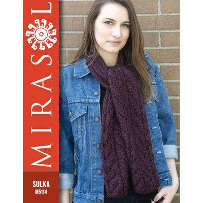 Mirasol Cascading Leaves Scarf | Sulka M5114