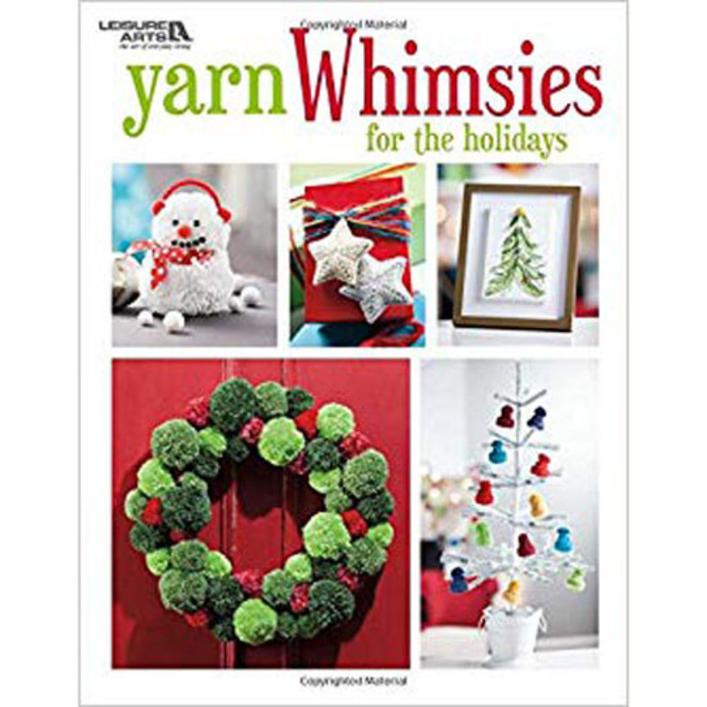 Yarn Whimsies for the Holidays