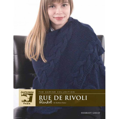 Juniper Moon Farm Rue De Rivoli Blanket