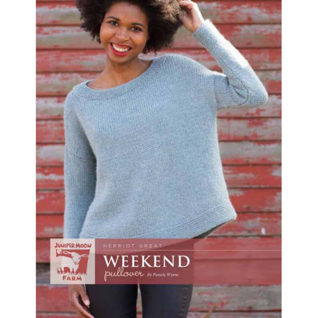 Juniper Moon Farm Weekend Pullover Pattern