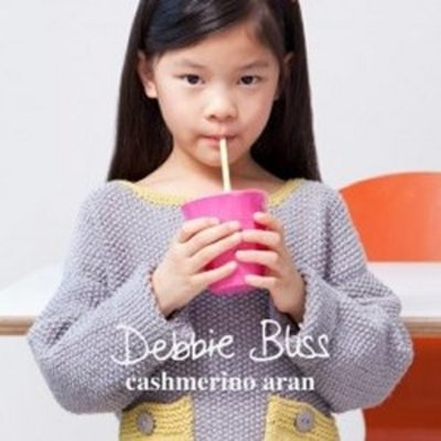 Debbie Bliss Pattern Book #1 Cashmerino Aran (kids)