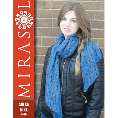 Mirasol Reversable Waves Scarf | M5117