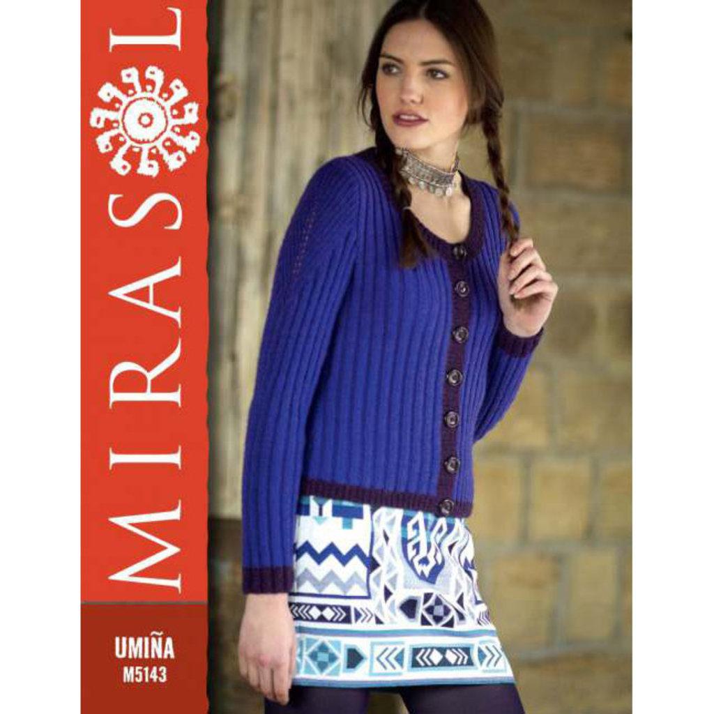 Mirasol Ribbed Cardigan | M5143