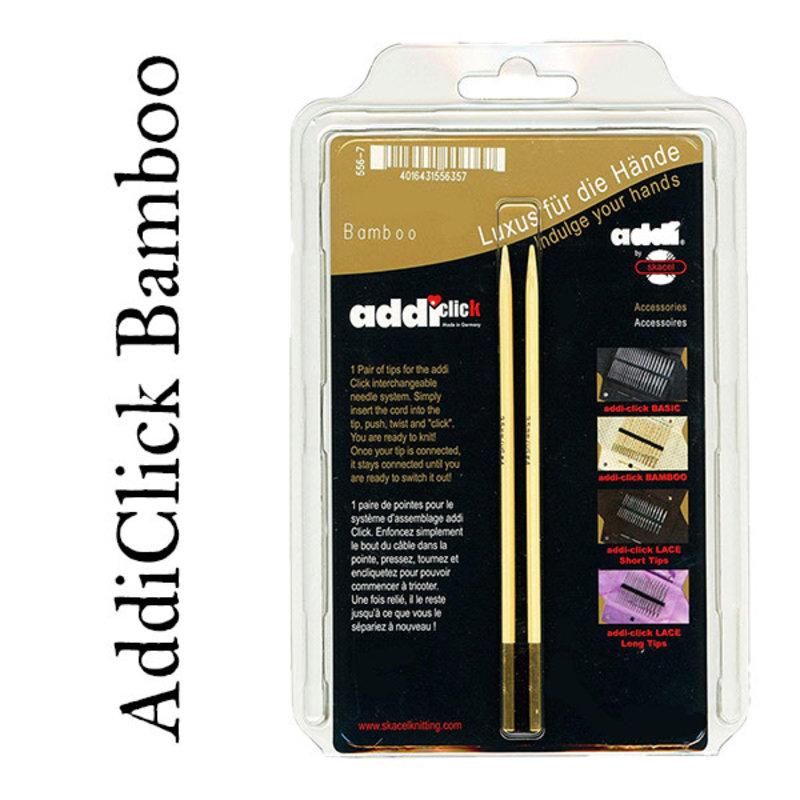 Addi Addi Click Bamboo Interchangeable Needles