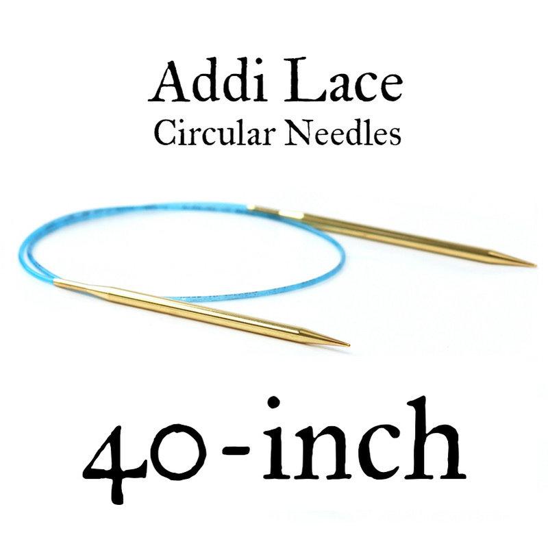 "Addi Addi Lace 40"" Circular Needles"