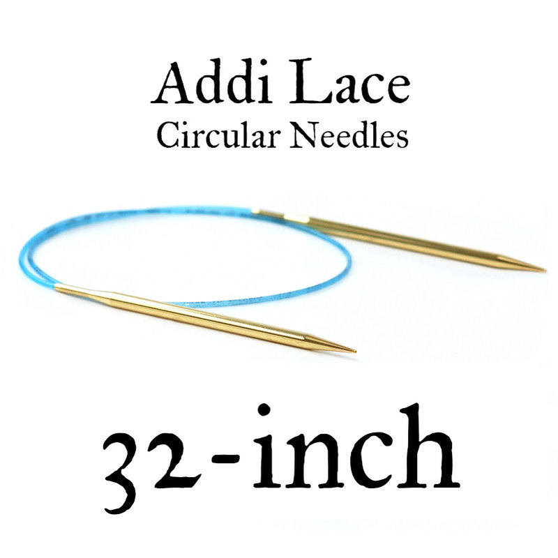 "Addi Addi Lace 32"" Circular Needles"
